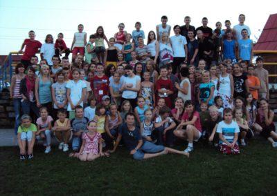 Obóz Groń lipiec-sierpień 2010