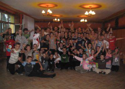 Obóz Dąbki lipiec 2011