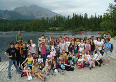 Obóz Groń lipiec 2012