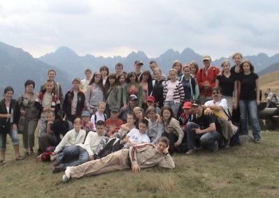 Obóz Groń sierpień 2007