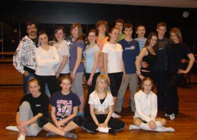 Warsztaty z tańca współczesnego z Anną Wytych Wierzgacz
